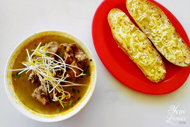 Pork Buto Buto and French bread at Bona's Chaolong Best Restaurants in Puerto Princesa Palawan Philippines YedyLicious Manila Food and Travel Blog