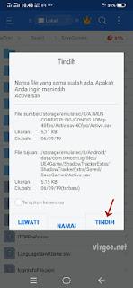cara pasang config pubg mobile dan active sav terbaru