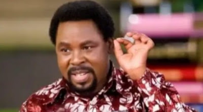 TB Joshua Returns From The Mountain With A Strong Warning For FG