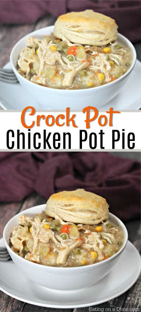Easy Chicken Pot Pie!