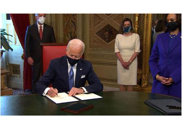 Office work started- Joe Biden