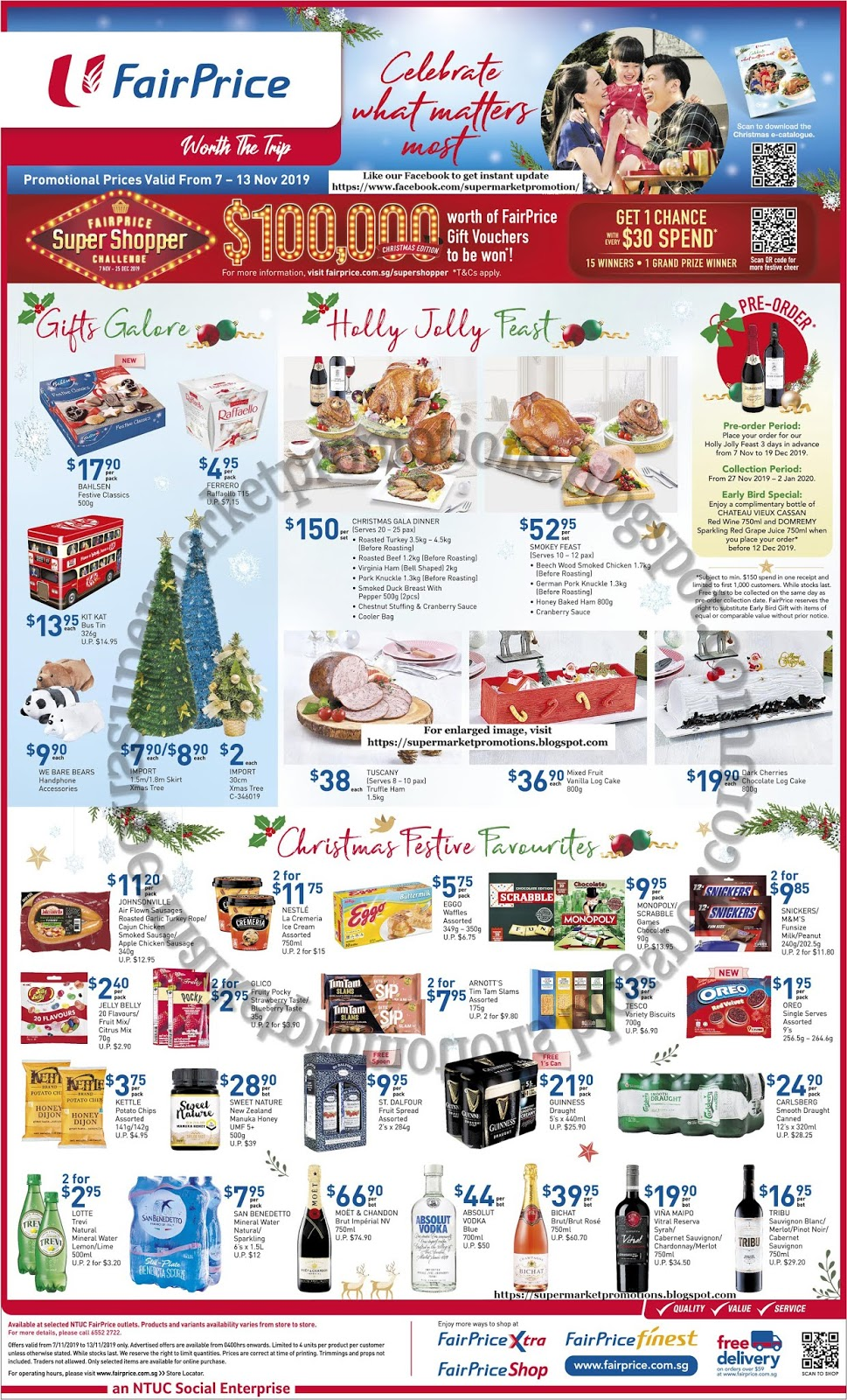 Fairprice Christmas Catalogue 2021 Ntuc Fairprice Christmas Promotion 07 13 November 2019 Supermarket Promotions
