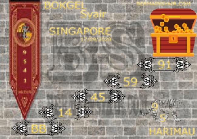 Kode syair Singapore Kamis 17 September 2020 241