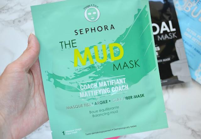 sephora collection mud sheet mask