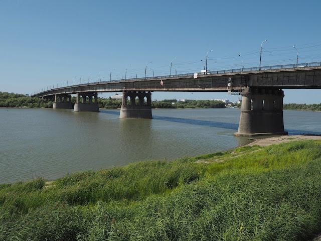Омск, река Иртыш (Omsk, the river Irtysh)