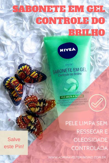 resenha sabonete facial para pele oleosa nivea
