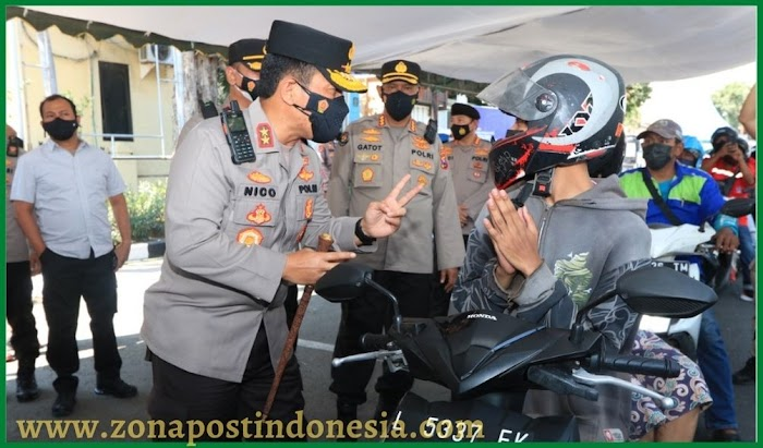 Irjen Pol Nico Afinta Kapolda Jatim, Cek Vaksin Drive Thru di Polres Pelabuhan Tanjung Perak