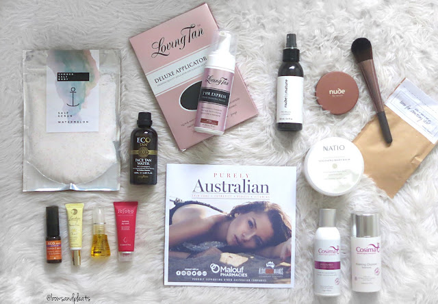 Malouf Pharmacies Australian Brand Showcase Goody Bag