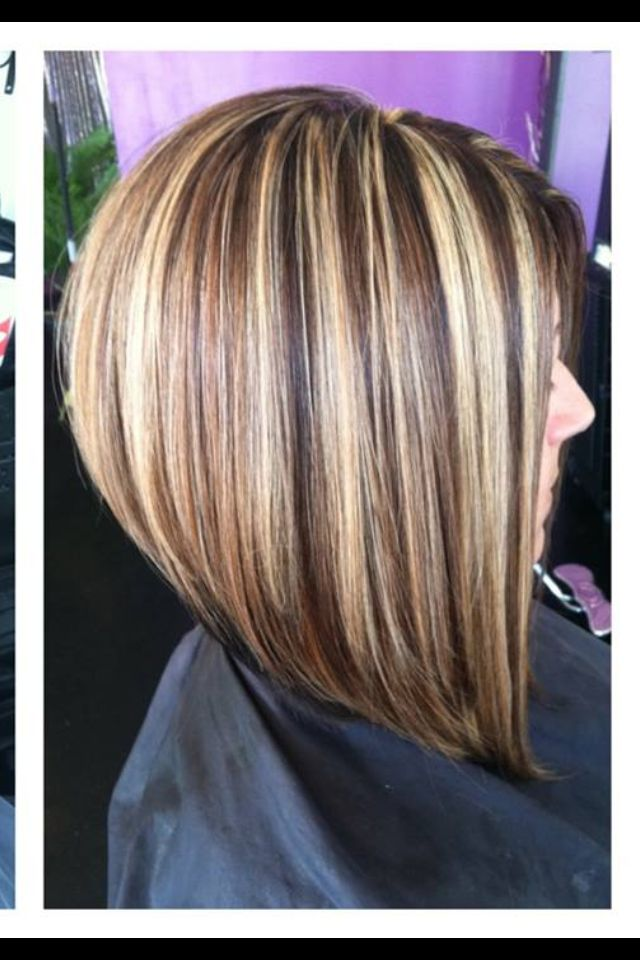 Bob Haircuts With Highlights Images And Video Tutorial The