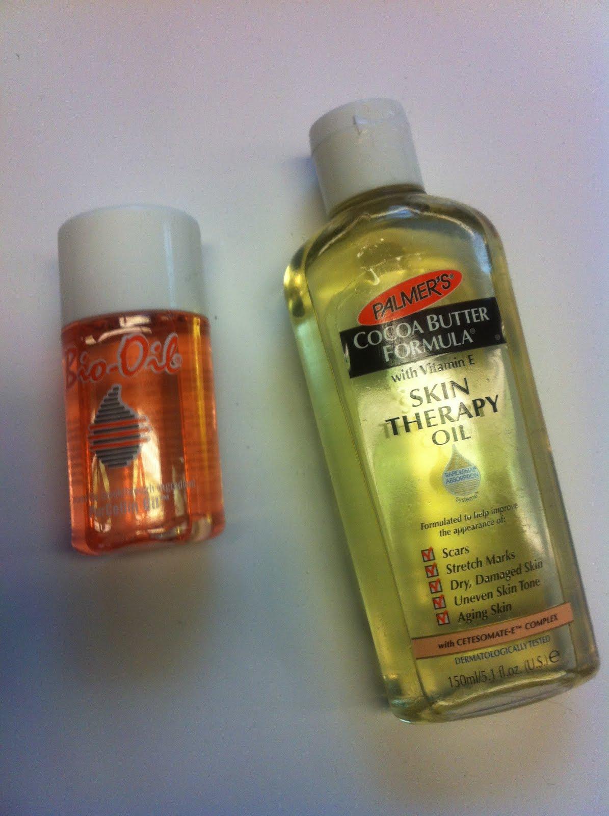 Comparative Review Palmer S Cocoa Butter Skin Therapy Oil Vs Bio