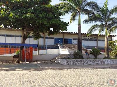 Resultado de imagem para ginásio de esportes de ipiaú