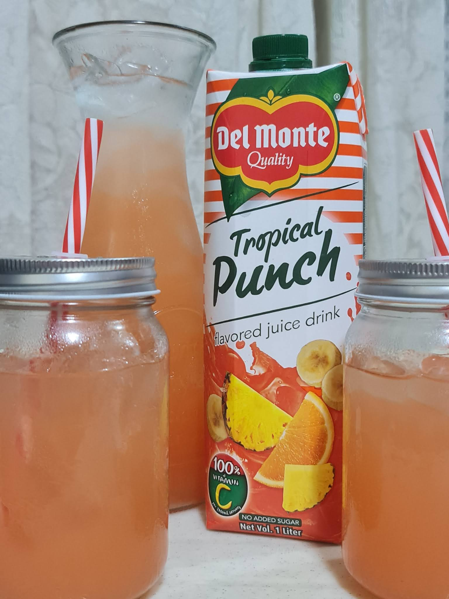 Del Monte Tropical Punch Juice Drink 1L Tetra pack