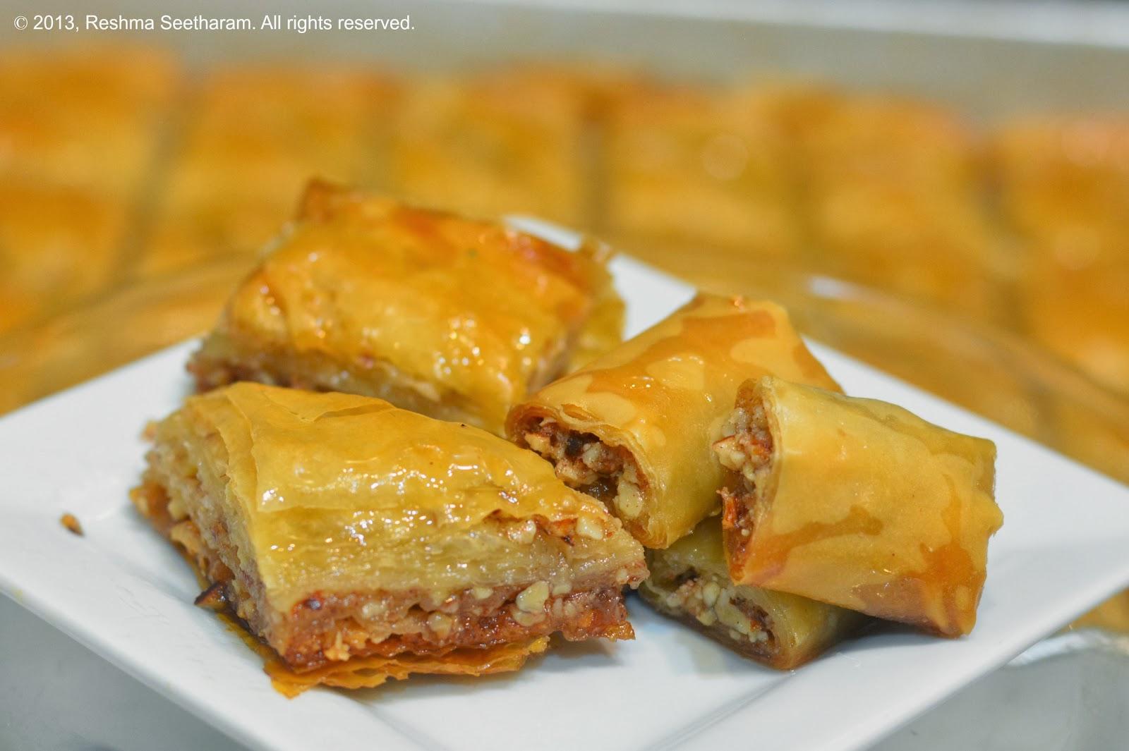 Baklava arabic turkish dessert forumfinder Choice Image
