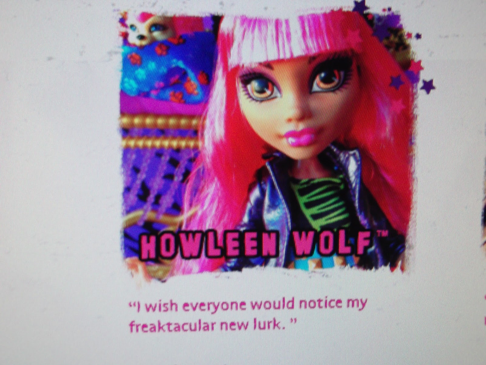 monster high 13 whishes:Take a Scary-Cool Wish Quiz
