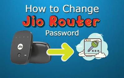 Jio WiFi Router Password