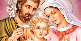 Cantos para missa da Sagrada Família