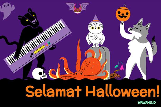 Ucapan Selamat Halloween 2019 Dari Google Doodles