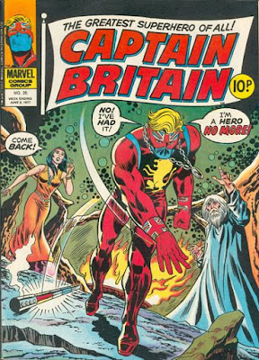 Marvel UK, Captain Britain #35