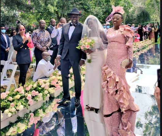 June Chepchirchir got married on Thursday, May 27.