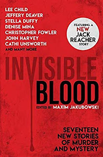 Invisible Blood edited by Maxim Jakubowski
