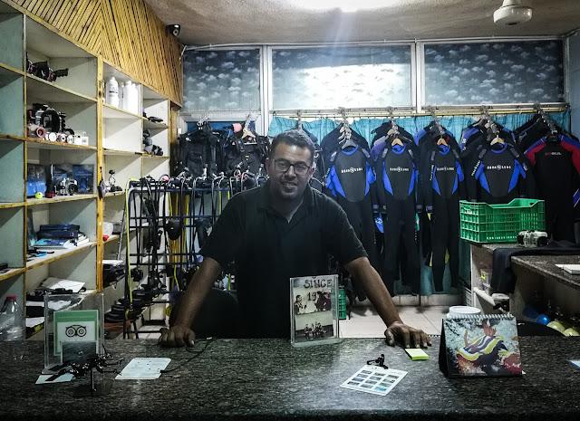 مركز العقبة الدولي للغطس - مدونة إيهاب عثمان للسفر