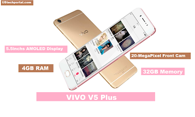 Vivo V5 Plus, Vivo V5 Plus specs, new Android smartphone, dual front camera, Android 6.0 marshmallow,
