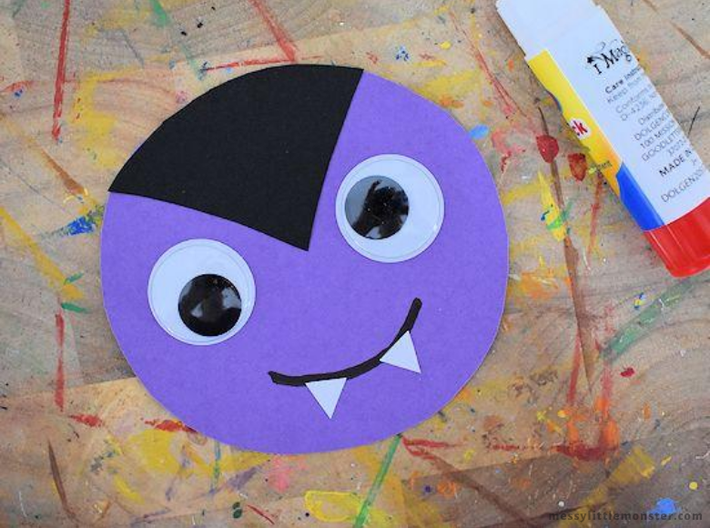 vampire craft for kids