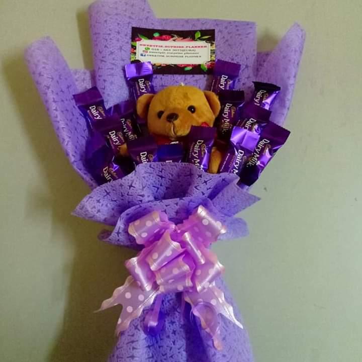 Tutorial Buat Coklat Bouquet Comel