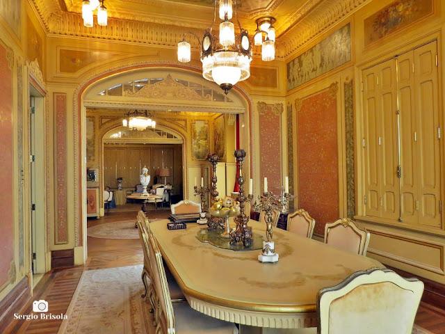 Palacete Rosa - Sala de jantar