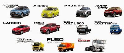 Daftar Mobil Merk Mitsubishi Terbaik