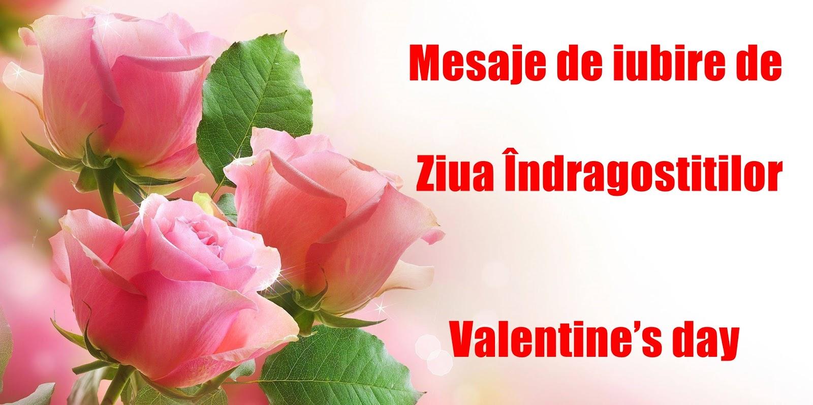 Mesaje de iubire de Ziua Îndrăgostiţilor (Valentine's day) 2018