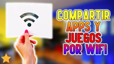 Cómo COMPARTIR APLICACIONES y JUEGOS por WIFI (Envía JUEGOS y APPS por WIFI (en ANDROID)
