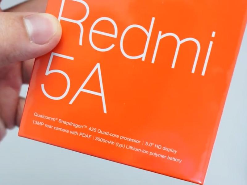Dus Xiaomi Redmi 5A