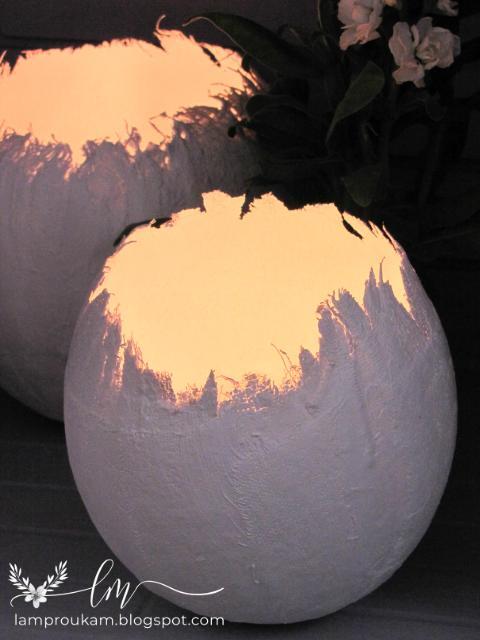 Εύκολη κατασκευή πασχαλινά αυγά με καλούπι.