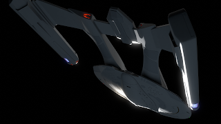 Akira class starship underside impulse engines