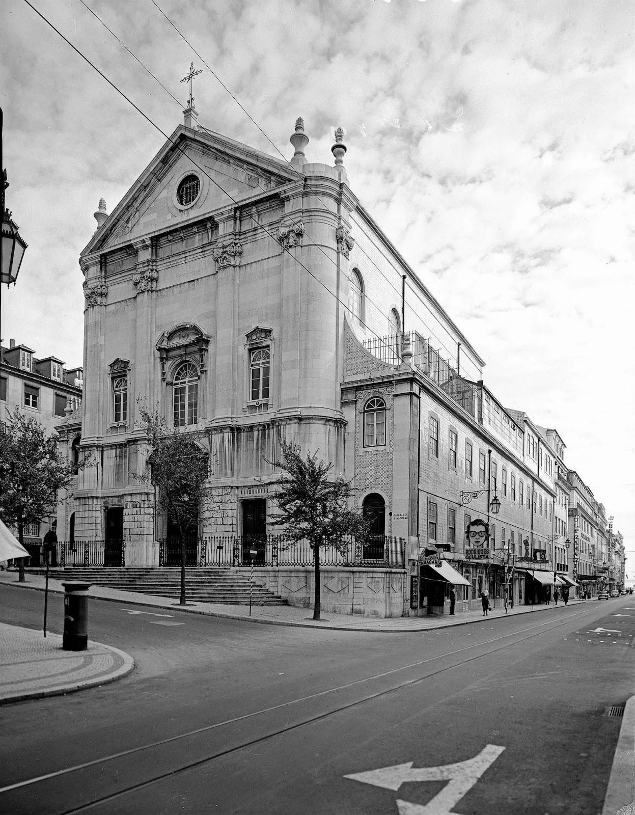 49cc8500fd15 Lisboa de Antigamente: Igreja de São Nicolau