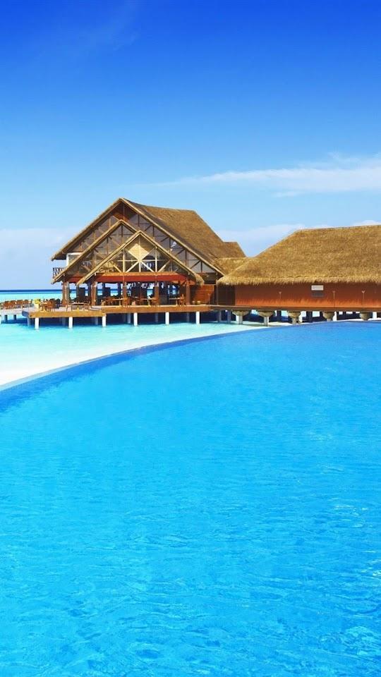 Maldives Vacation   Galaxy Note HD Wallpaper