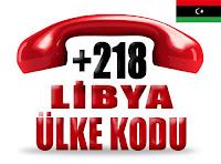 +218 Libya ülke telefon kodu
