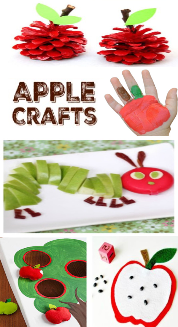 30+ apple crafts and activities for kids! #applecraftspreschool #appleactivitiesforkids #fallcraftsforkids #growingajeweledrose #activitiesforkids