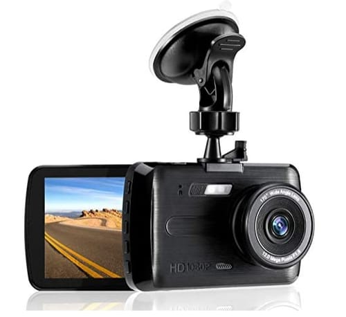 LIOBABA FHD DVR Car Driving Recorder Dash Cam