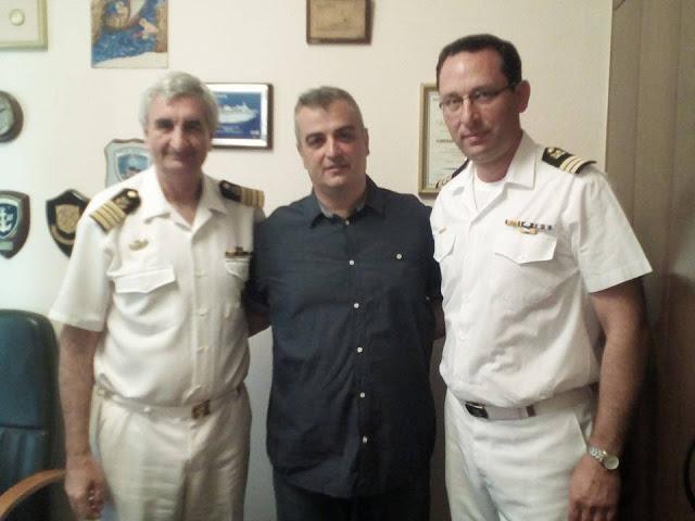 Ανάδειξη προβλημάτων κατά την επίσκεψη από την Πανελλήνια Ένωση Αξιωματικών Λιμενικού Σώματος στο Ναύπλιο