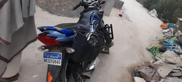 शिवनगर में बाईक चोरी करते दो चोर धराया