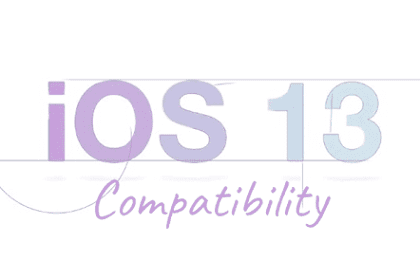 IPhone, iPad and iPod Touch devices that are compatible with iOS 13