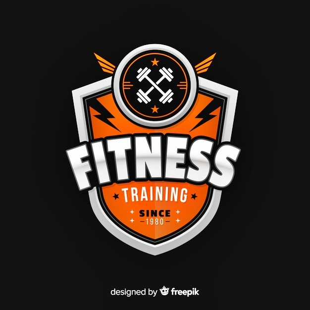 Fitness Training Template Logo