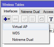 setting Virtual Access Point pada master-interface wlan1
