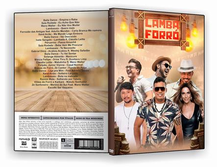 LAMBA FORRÓ –2019 - DVD-R
