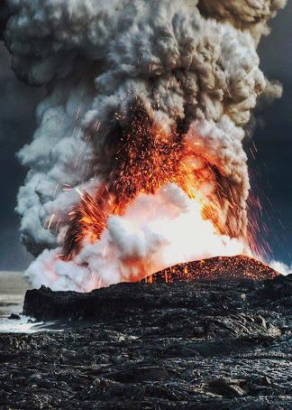 FOTOS: 9 Volcanes Han Echo Erupcion En Menos De 2 Meses .  Que Está Pasando????