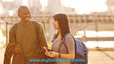 محادثة للتعارف بين شخصين بالانجليزية