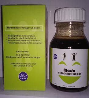 Madu penggemuk badan bin dawood asli herbal penambah berat tubuh