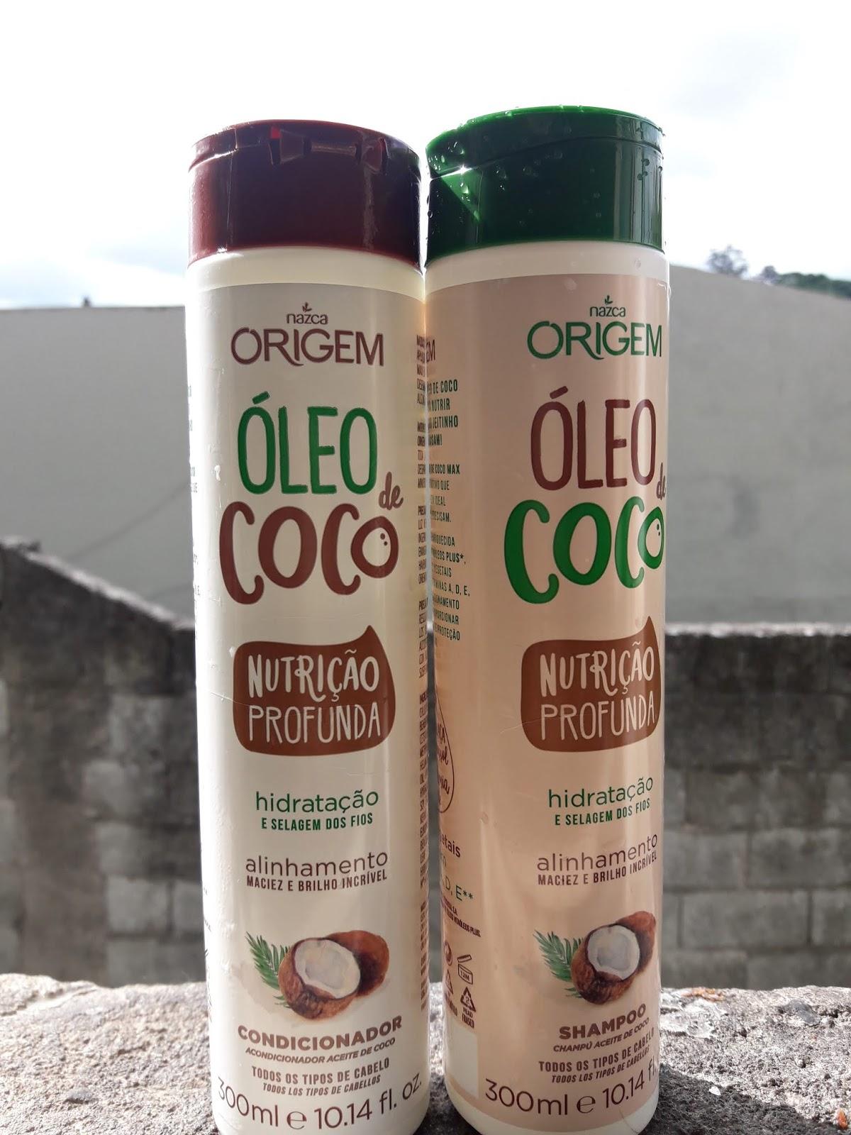 Resenha Origem Óleo de coco